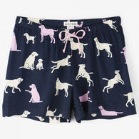 Hatley Women's Little Blue House Little Labs Sleep Short