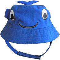 Huggalugs Infant/Toddler Boy's Moby Whale Bucket Hat