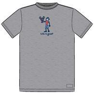 Life is Good Men's Big & Tall Lobster Jake Crusher Short-Sleeve T-Shirt