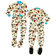 Lazy One Women's Owl Yours Footeez Pajama