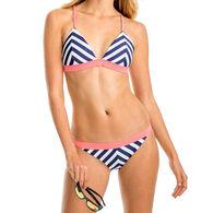 Southern Tide Women's Retreat Chevron Triangle Bikini Top