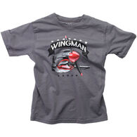 Wes And Willy Boy's Wingman Short-Sleeve T-Shirt