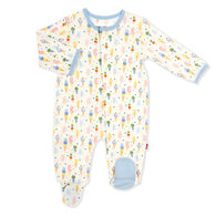 Magnetic Me Infant Ice Ice Cream Baby Modal Magnetic Footie Pajama