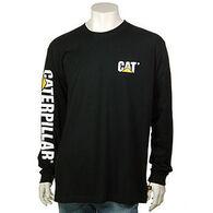CAT Apparel Men's Trademark Banner Long-Sleeve T-Shirt