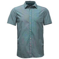 The North Face Men's Shadow Gingham Short-Sleeve Shirt