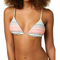 O'Neill Women's Cayo Cruz Stripe Revo Bikini Top