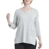 Habitat Women's Baby Link Pocket Tunic Sweater