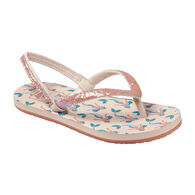 Reef Girls' Stargazer Printed Sandal