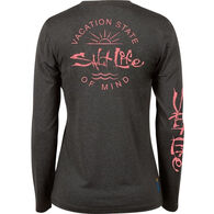 cfb56cc00248 Salt Life Women's Vacation State of Mind Long-Sleeve T-Shirt