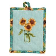 Kay Dee Designs Sunflower Fields Embroidered Potholder