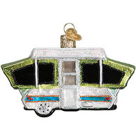 Old World Christmas Tent Camper Ornament