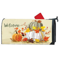 MailWraps Neutral Pumpkins Magnetic Mailbox Cover