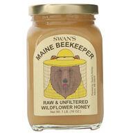 Swan's Maine Beekeeper Raw & Unfiltered Wildflower Honey - 1 lb.