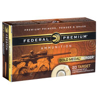 Fusion Berger Gold Medal 6.5 Creedmoor 130 Grain Berger AR Hybrid OTM Tactical Rifle Ammo (20)