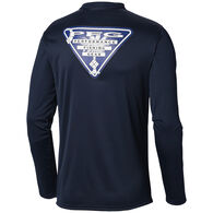Columbia Men's PFG Terminal Tackle State Triangle Flag Long-Sleeve Shirt