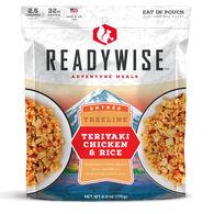 ReadyWise Treeline Teriyaki Chicken & Rice - 2.5 Servings