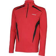 Karbon Men's Mercury 1/4-Zip Turtleneck Pullover Shirt