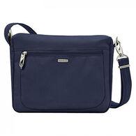 dcaf5e8bbc7f Travelon Anti-Theft Classic Small E W Crossbody Bag