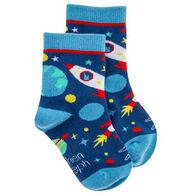 Stephen Joseph Boy's Space Sock