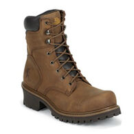 """Chippewa Men's 8"""" Oblique Toe - 400g. Insulated Safety Work Boot"""