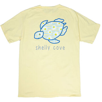 Shelly Cove Mens & Womens Happy Daisies Short-Sleeve T-Shirt