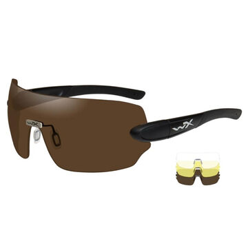 Wiley X Wx Detection 3 Lens (Clear, Yellow, Copper) Ballistic Sunglasses