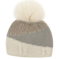 Mitchies Matchings Women's Color Block Knit Beanie