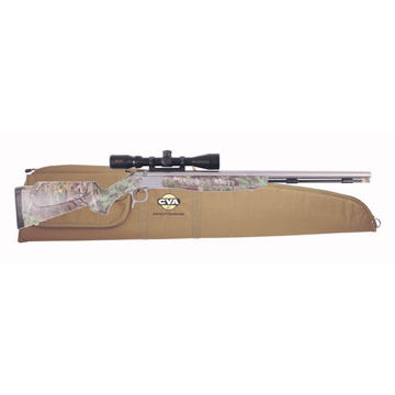 CVA Optima V2 Thumbhole 50 Cal. Stainless Steel / Realtree Xtra Green Muzzleloader w/ Dead-On Mount