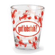 Cape Shore Maine Got Lobstah? Shot Glass