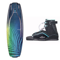 O'Brien Women's Vixen 137 Wakeboard w/ Vixen 6-9 Binding