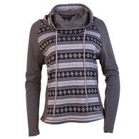 Purnell Women's Fair Isle Cowl Neck Sweater