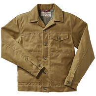 e4cf14d070f Filson Men s Tin Cloth Short Lined Cruiser Jacket
