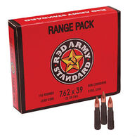 Red Army Standard 7.62 x 39mm 122 Grain FMJ Rifle Ammo Range Pack (180)