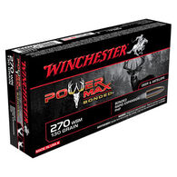 Winchester Power Max Bonded 270 Win 130 Grain HP Rifle Ammo (20)