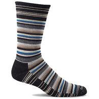 Goodhew Men's Fiesta Stripe Crew Sock