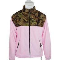 Trail Crest Women's Coral Fleece Full Zip Jacket