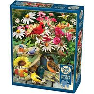 Outset Media Jigsaw Puzzle - Garden Birds