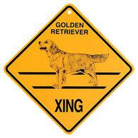 KC Creations Golden Retriever XING Sign