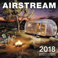 Airstream 2018 Wall Calendar by Editors of Motorbooks