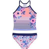Noruk Girl's Cruise Tankini Two-Piece Swimsuit