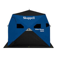 Shappell Wide House 6500 Hub-Style 4-Person Ice Shelter