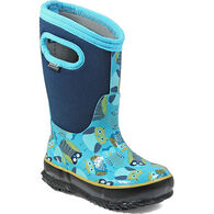 Bogs Girl's Classic Owls Insulated Boot