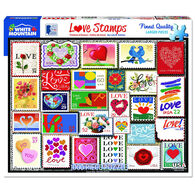 White Mountain Jigsaw Puzzle - Love Stamps