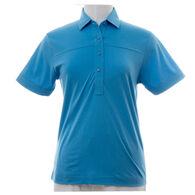 Leon Levin Women's Classic Short-Sleeve Polo Shirt
