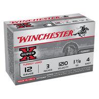 "Winchester Super-X Turkey Load 12 GA 3"" 1-7/8 oz. #4 Shotshell Ammo (10)"
