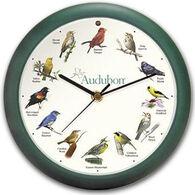 "Feldstein & Associates 13"" Audubon Singing Bird Clock"