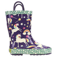 Western Chief Girls' Unicorn Dreams Rain Boot