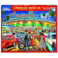 White Mountain Jigsaw Puzzle - American Drive-In