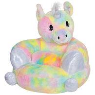 Trend Lab Children's Plush Rainbow Unicorn Character Chair