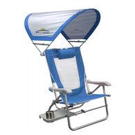 GCI Outdoor Big Surf Folding Beach Chair w/ SunShade